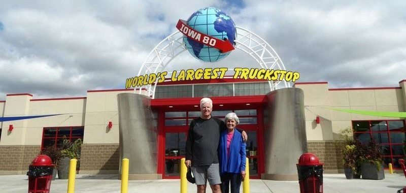 A Most Unusual Truck Stop